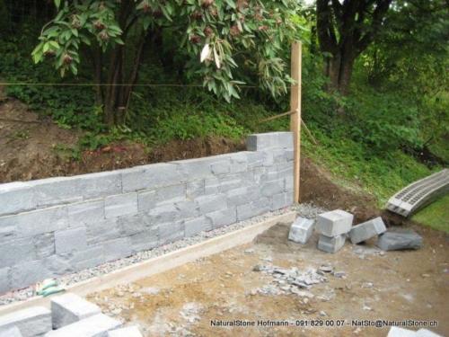 Spezial Mauersteine aus Maggiagneis, kein Standard