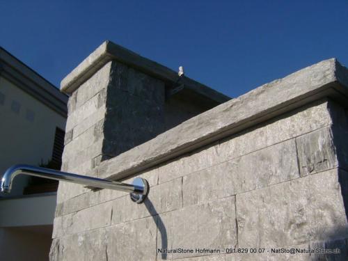 Mauersteine aus Valserquarzit