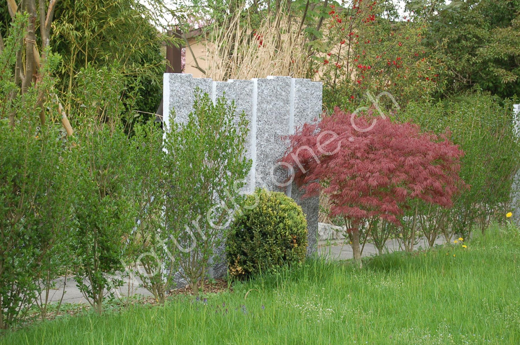 Palisaden Fur Ihren Garten Stelen Naturalstone Hofmann