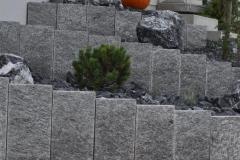 Palisaden-Gartenbau