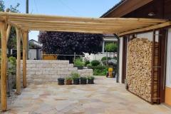Pergola-Holz-lang-Anbau