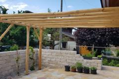 Pergola-Holz-lang