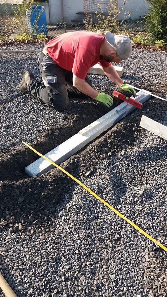 Fundament für weichen Untergrund