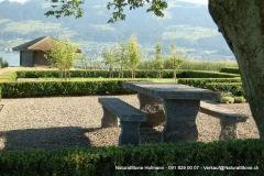 """Tisch """"Grotto"""" zum einbetonieren 240 x 90 x 8-9 cm"""