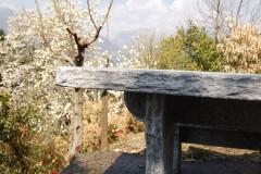 Granittisch-Bernardino-Kanten-Handgespitzt