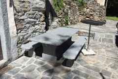 Granittisch Bernardino aus Bodio 220x95cm