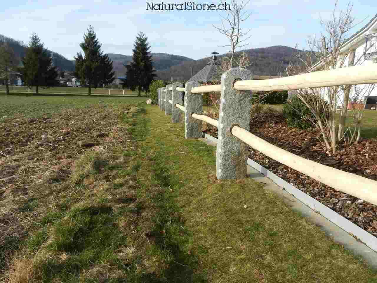 Tessiner Zaun Seitlich